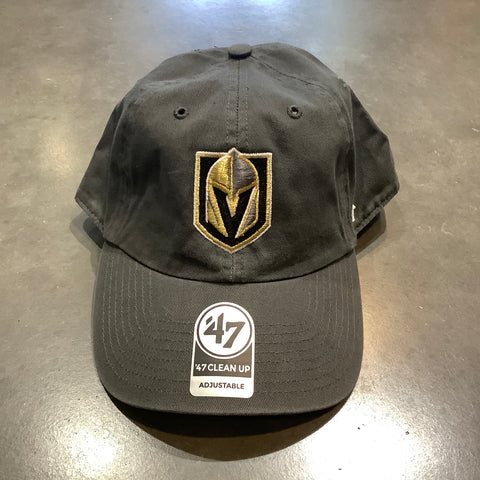 Golden Knights Charcoal Clean Up Slouch Hat