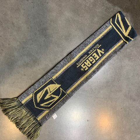 Golden Knights Big Logo Stripe Scarf