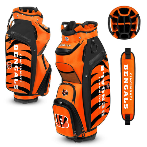 Cincinnati Bengals Bucket Cooler Cart Golf Bag