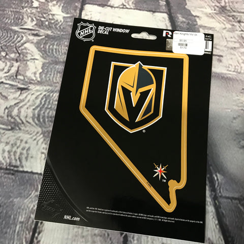 Golden Knights State Decal