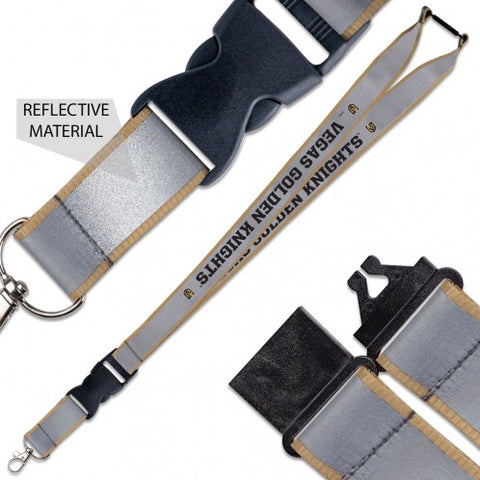 Golden Knights Lanyard - Reflective