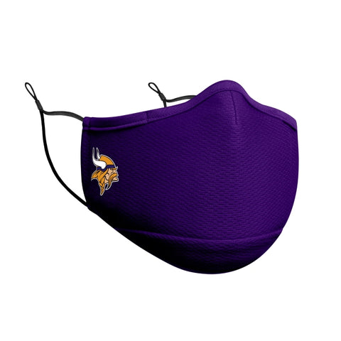 Minnesota Vikings New Era On-Field Face Covering Mask Adult- Purple
