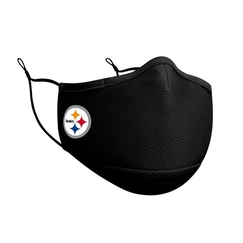 Pittsburgh Steelers New Era On-Field Face Covering Mask Adult- Black