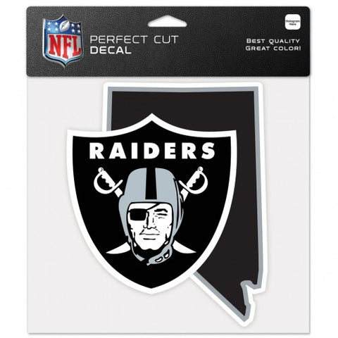 Las Vegas Raiders State Perfect Cut Decal 4 x 4