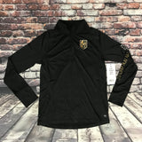 Golden Knights Women's 1/4 Zip Long sleeve - Black