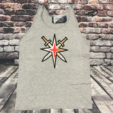 Golden Knights Men's Alternate Logo Tank - Gray