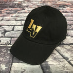 Las Vegas Aviators Slouch Dad Hat Gold Embroidery- Black