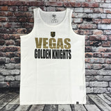 Golden Knights Men's Block Tank top - White