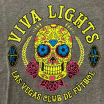 Las Vegas Lights FC Youth Skull Tee