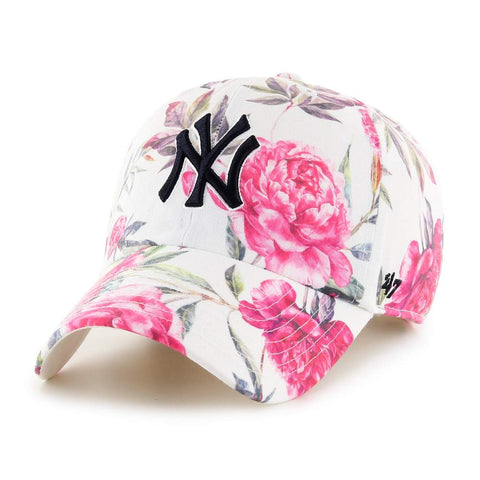 New York Yankees Women's Peony Clean Up Hat - Floral Print