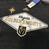 Golden Knights Men's Welcome to Las Vegas Sign Tee- Gray