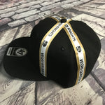Golden Knights Tri Stripe 47 Captain SnapBack Hat - Black