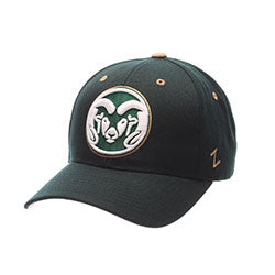Colorado State Competitor Velcro Adj Hat - Green