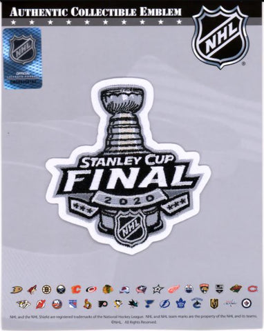 2020 Stanley Cup Final Patch