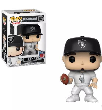Funko POP! NFL: Raiders Derek Carr #47