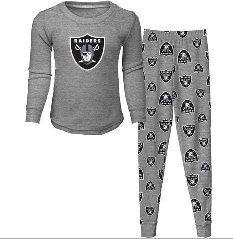Raiders Youth Pajama Set
