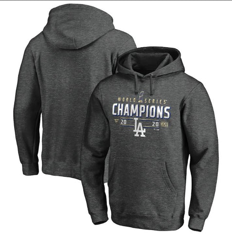 Los Angeles Dodgers 2020 World Series Champions Hood