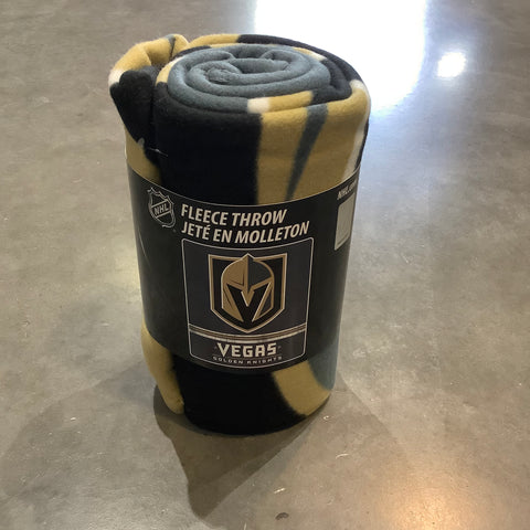 Golden Knights Fleece Throw Blanket