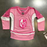 Golden Knights Youth Girls Pink Jersey Kids