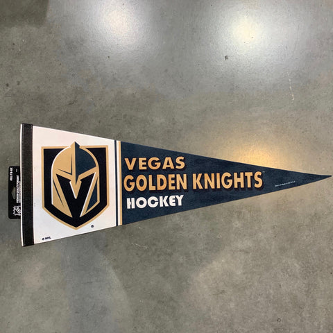 Golden Knights Premium Quality Pennant- White