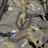 Golden Knights Men's Camo Poly Fill Hooded Jacket