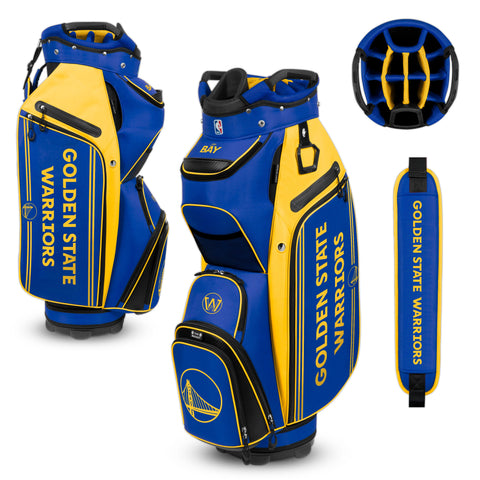 Golden State Warriors Bucket Cooler Cart Golf Bag