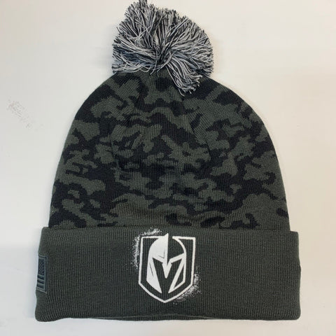 Golden Knights Military 2020 Snapback Beanie Fanatics - Green/Camo