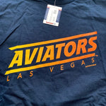 Aviators Men's Navy Superior Jersey Tee