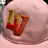 Las Vegas Aviators Women's Embroidered Slouch Dad Hat - Pink