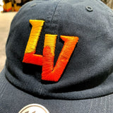 Las Vegas Aviators Embroidered Slouch Dad Hat - Navy