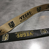 Vegas Golden Knights Reversible Lanyard - Black/Gold