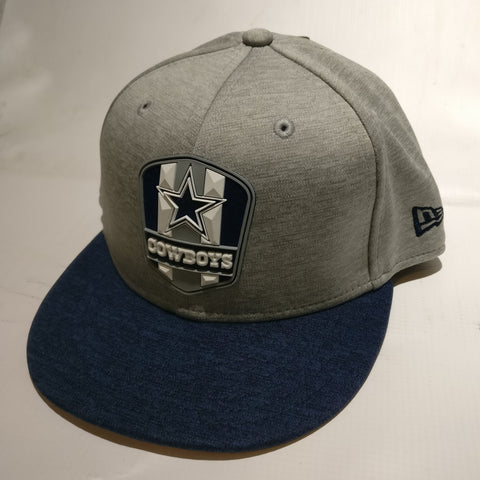Dallas Cowboys Sideline Road Fitted Flat Bill Hat - YOUTH
