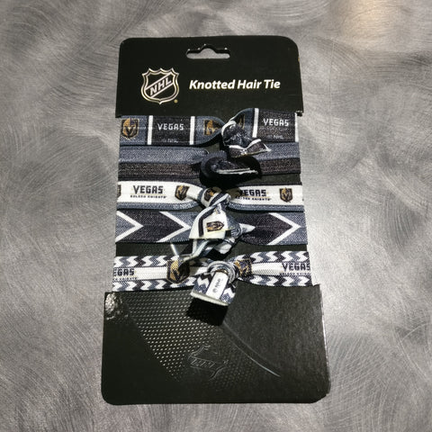 Vegas Golden Knights Knotted Hair Tie 5-Pack