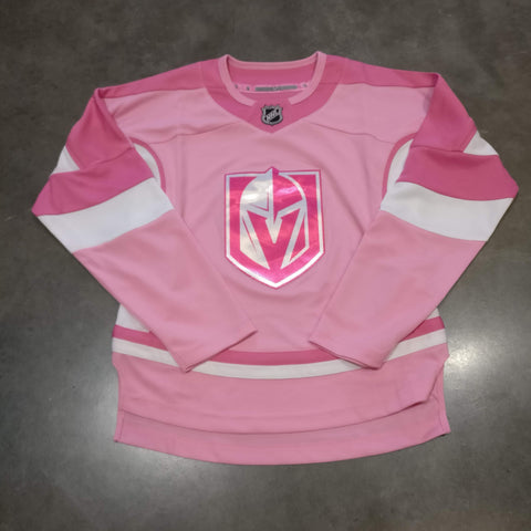 Vegas Golden Knights Girls Juniors Pink Youth Jersey