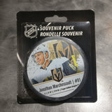 Vegas Golden Knights Jonathan Marchessault #81 Away Souvenir Puck
