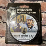Vegas Golden Knights William Karlsson #71 Souvenir Puck AWAY
