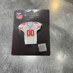 49ers Away Jersey Pin