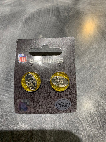 49ers Post Sparkle Earrings