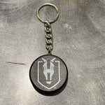 Henderson Silver Knights Puck Key Chain