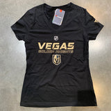 Golden Knights Women's Vegas Player T black