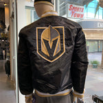 Golden Knights Men's Satin Jacket Script