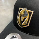 Golden Knights Youth Primary Logo Black Adjustable Hat