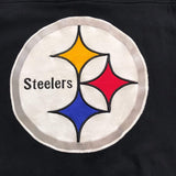 Steelers Men's Team Captain Throwback V-Neck Sweater