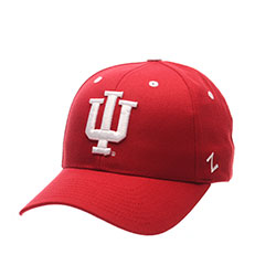 University of Indiana Basic Logo Velcro Adj - Red