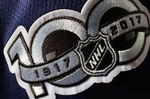 NHL 100th Year of Hockey Patch