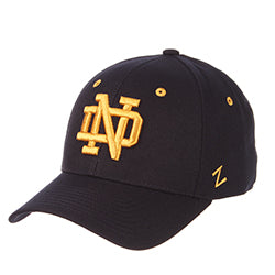 University of Notre Dame Basic Logo Stretch Fit - Navy
