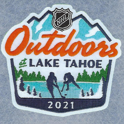 Golden knights VS Avalanche Tahoe Game Commemorative patch