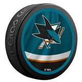 San Jose Sharks Reverse Retro Jersey Logo Hockey Puck