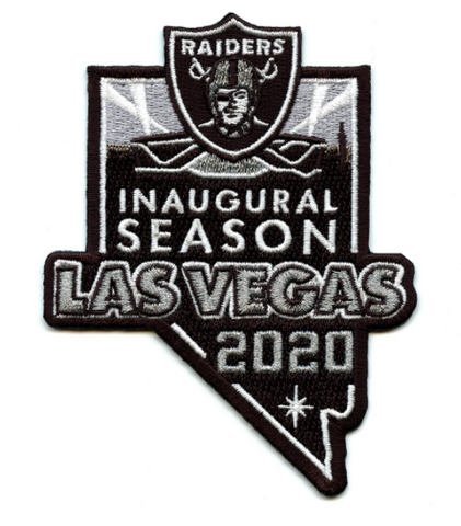 Las Vegas Raiders Inaugural Season Jersey Patch (2020)