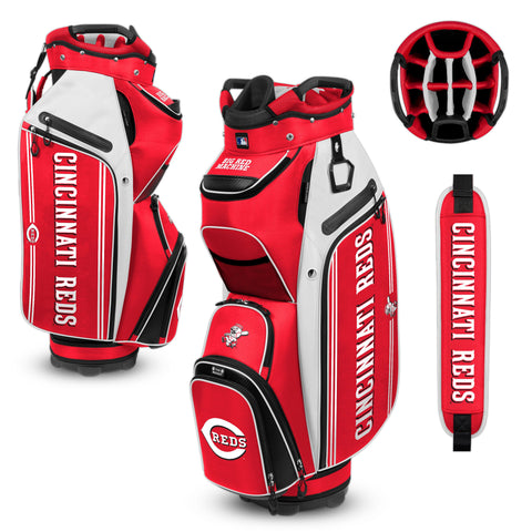 Cincinnati Reds Bucket Cooler Cart Golf Bag